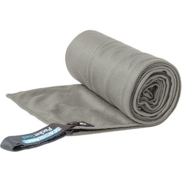 SeaToSummit Pocket Towel Medium Grau - Bild 1