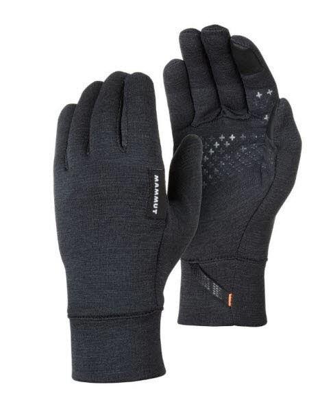 Mammut Wool Glove Schwarz - Bild 1