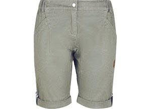 High Colorado PATEA-L,Lds.Stretchy Shorts,mermaid khaki/oli