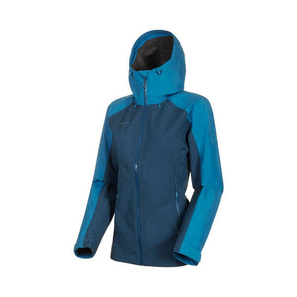 Mammut Convey Tour HS Hooded Jacket Women Blau - Bild 1