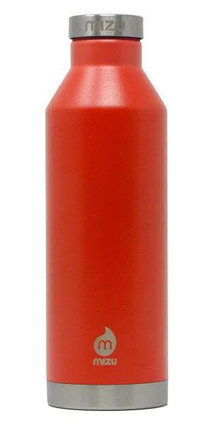 MIZU V8 750ml Isolierflasche Orange Orange