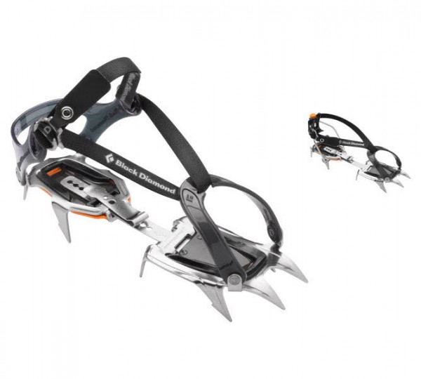 Black Diamond Contact Crampon Silber - Bild 1