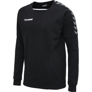 Hummel AUTHENTIC TRAINING SWEAT Schwarz - Bild 1