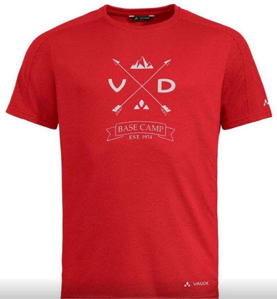 Vaude Me Gleann T-Shirt Rot