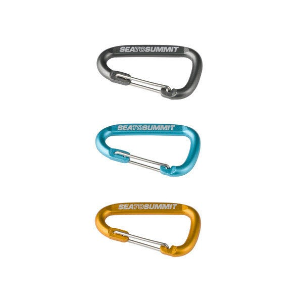 SeaToSummit Accessory Carabiner Set 3pcs Mehrfarbig