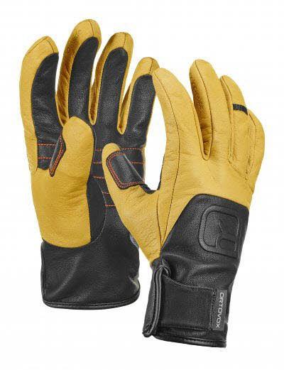 Ortovox Pro Leather Glove Braun