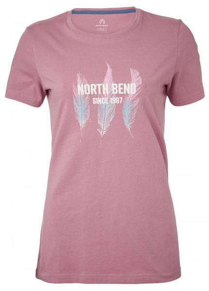 North Bend VERTICAL Tee Women Pink