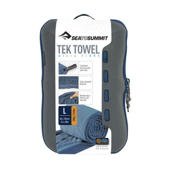 SeaToSummit Tek Towel Large Blau - Bild 1