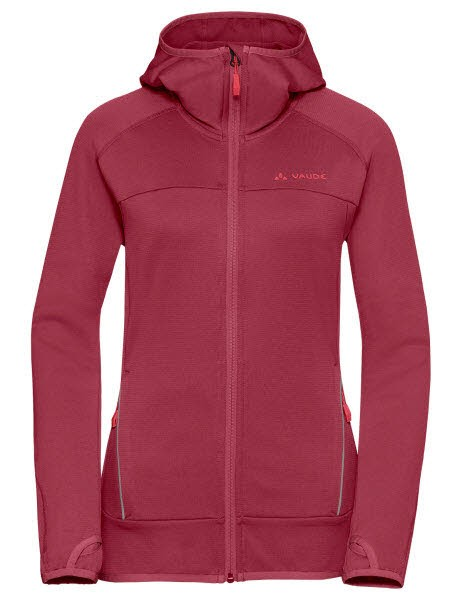 Vaude Wo Tekoa Fleece Jacket Rot - Bild 1