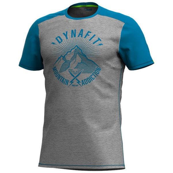 Dynafit Transalper Light T-Shirt Herren Blau