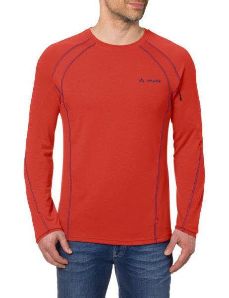 Vaude Me Signpost LS Shirt Orange - Bild 1
