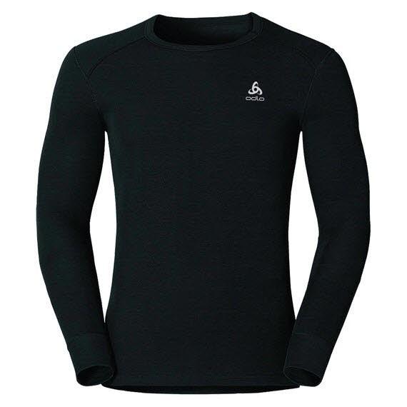 Odlo Men Shirt L/S crew neck Active Schwarz - Bild 1
