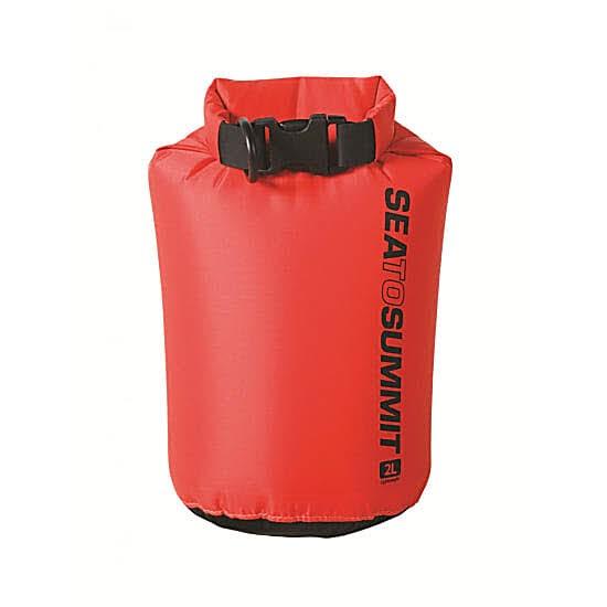 SeaToSummit Lightweight 70D Dry Sack - 2 Liter Rot