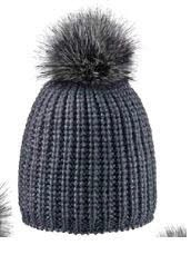 Areco Bommel Beanie Anthracite