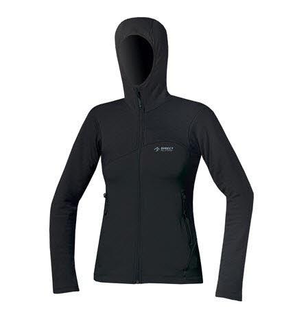 Direct Alpine EIRA Sweatshirt Schwarz