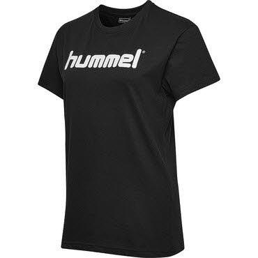 Hummel HMLGO COTTON LOGO T-SHIRT WOMAN S/S Schwarz - Bild 1