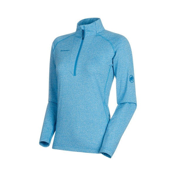Mammut Snow ML Half Zip Pull Women Blau - Bild 1