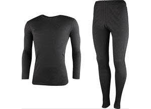 High Colorado RIGA 3-M, Underwear Set Mens Schwarz