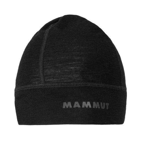 Mammut Merino Helmet Beanie Schwarz - Bild 1