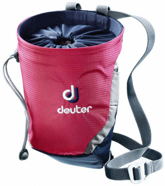 Deuter Gravity Chalk Bag II M Rot