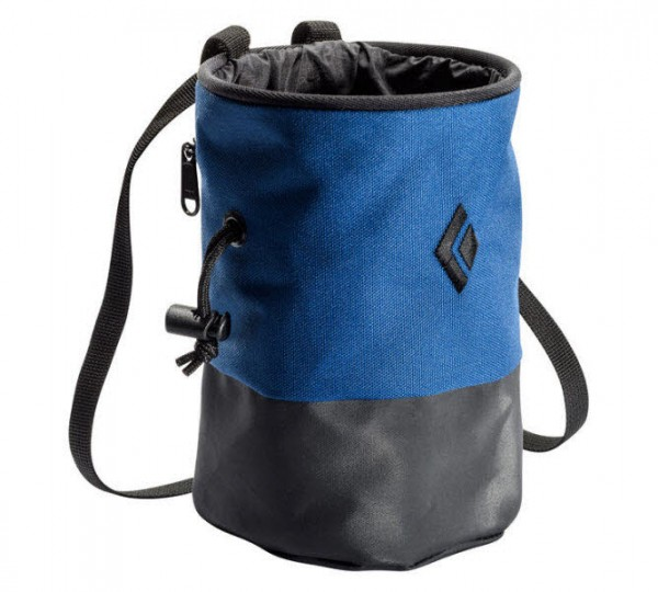 Black Diamond Mojo Zip Chalk Bag Blau