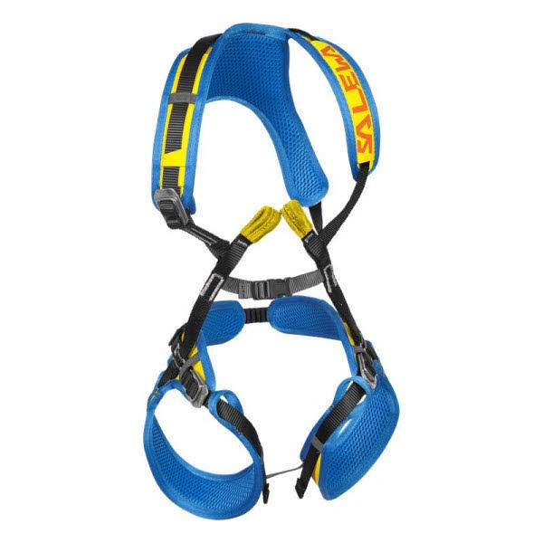 Salewa ROOKIE FB COMPLETE HARNESS Gelb