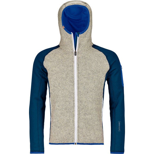 Ortovox Fleece Plus Classic Knit HDY M petrol blue - Bild 1