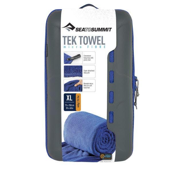SeaToSummit Tek Towel X-Large Blau - Bild 1