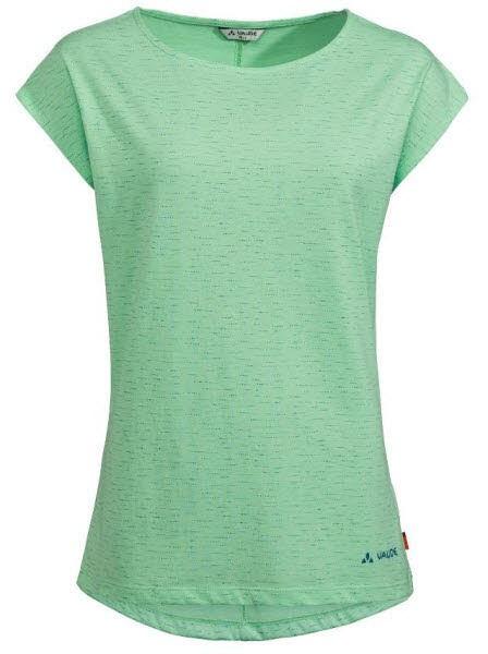 Vaude Wo Zaneta AOP T-Shirt Grün