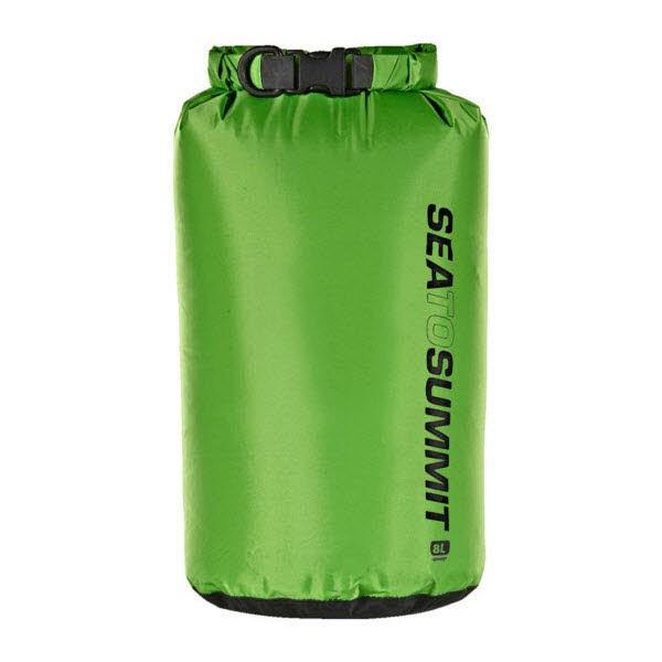 SeaToSummit Lightweight 70D Dry Sack - 8 Liter Grün