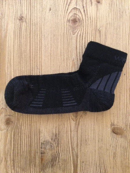 Wapiti Socks Trek S05 Mid Schwarz - Bild 1