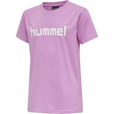 Hummel HMLGO COTTON LOGO T-SHIRT WOMAN S/S Rosa - Bild 1