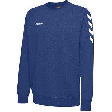 Hummel GO COTTON SWEATSHIRT Blau - Bild 1