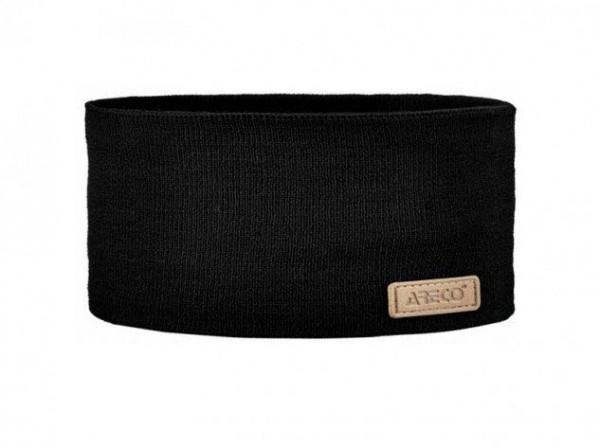 Areco Stirnband uni Schwarz