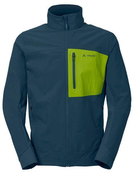 Vaude Me Badile Softshell Jacket Blau - Bild 1