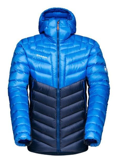 Mammut Broad Peak IN Hooded Jacket Men Blau - Bild 1