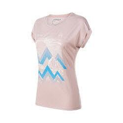 Mammut Mountain T-Shirt Women Rosa