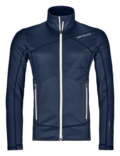 Ortovox FLEECE JACKET M Blau