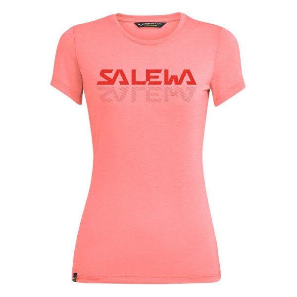 Salewa GRAPHIC DRI-REL W S/S TEE. Pink