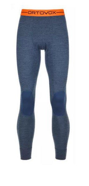 Ortovox 185 ROCK'N'WOOL LONG PANTS M Blau