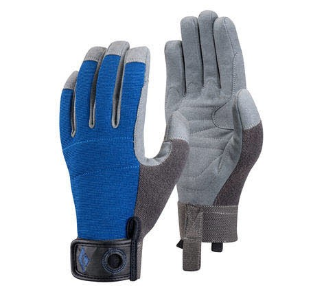 Black Diamond Crag Gloves Blau