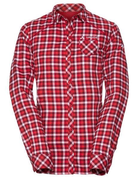 Vaude Wo Comici LS Shirt Rot - Bild 1