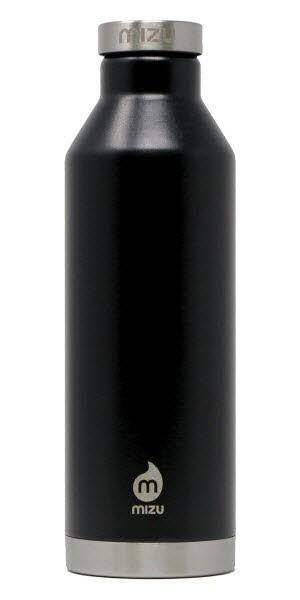 MIZU V8 750ml Isolierflasche Black Schwarz